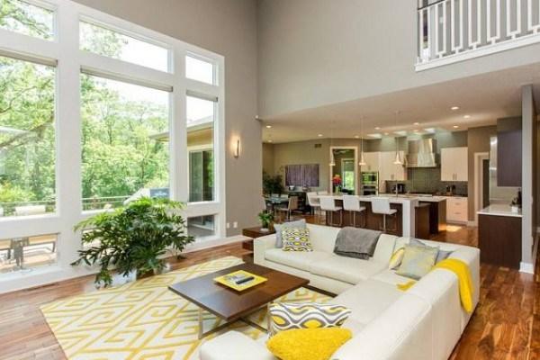 Bright Living Room Brian Hommel
